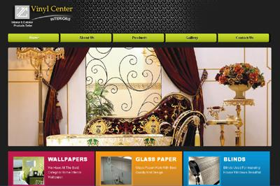 web secreenshort of Vinyl-Center Lahore